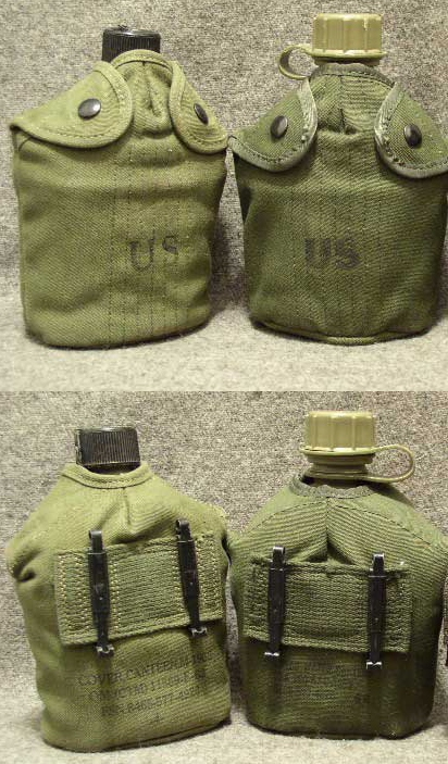 Gourde US  1944/45/56 Cantee10