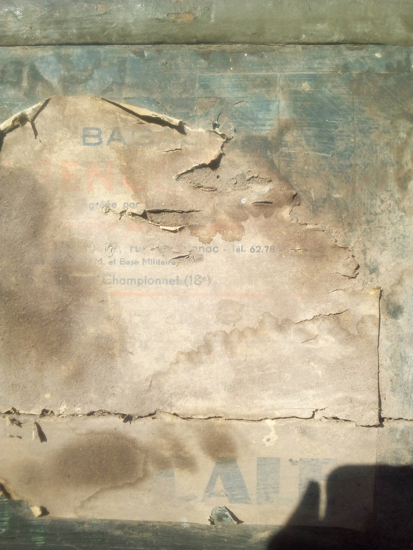 Caisse en bois trouvée en déchetterie  Img_2067