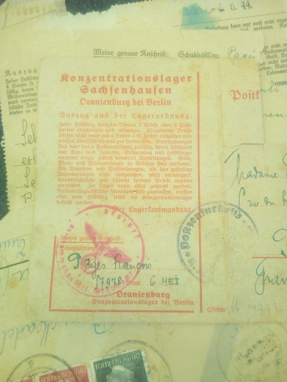 Du stalag 122 de Compiègne au camp de concentration de Sachsenhausen... Img_2153