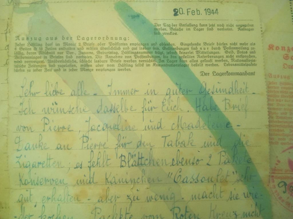 Du stalag 122 de Compiègne au camp de concentration de Sachsenhausen... Img_2156