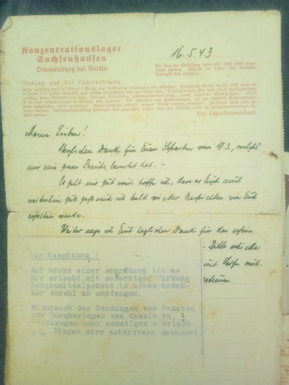Du stalag 122 de Compiègne au camp de concentration de Sachsenhausen... Img_2157