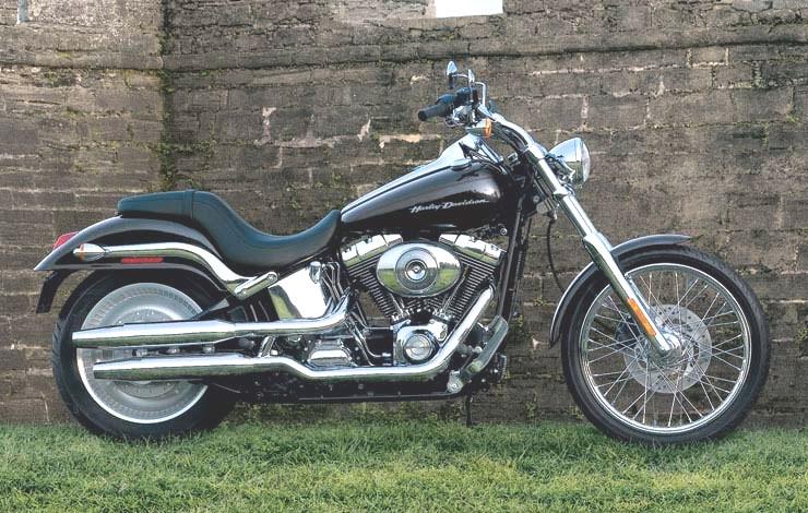 Ligne d'échappement d'origine fat boy Harley10