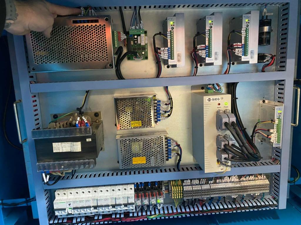probleme electrique cnc 310