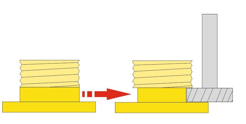 usinage d'une gorge avec un outil en T sous cambam  Fraise10