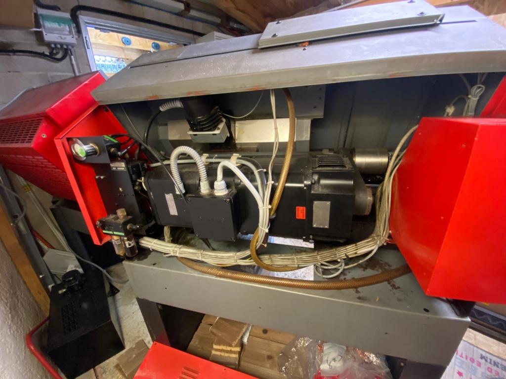EMCO TURN 120P  panneau de commandes qui a fumé  Img_9011
