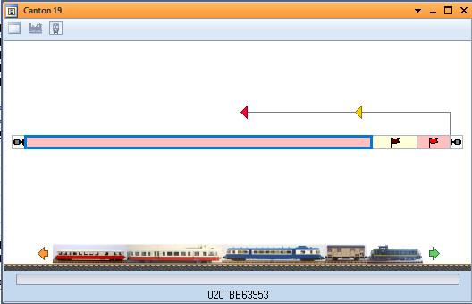 Séparation automatique des trains « empilés » Trains10