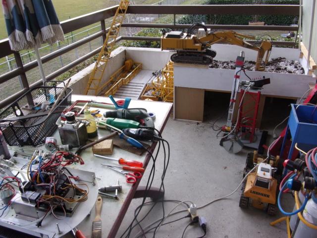 Mini chantier TP sur Balcon à la Steve Barste. 001102