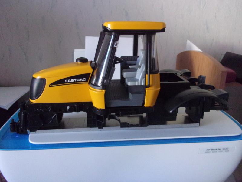 Tracteur agricole JCB de Bruder, 2 directions 03030 001211
