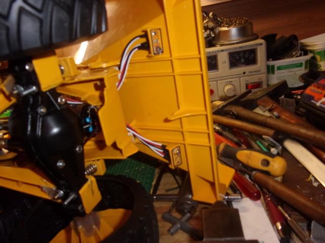 Les modifications sur Dumper Volvo A60H de Bruder 00192