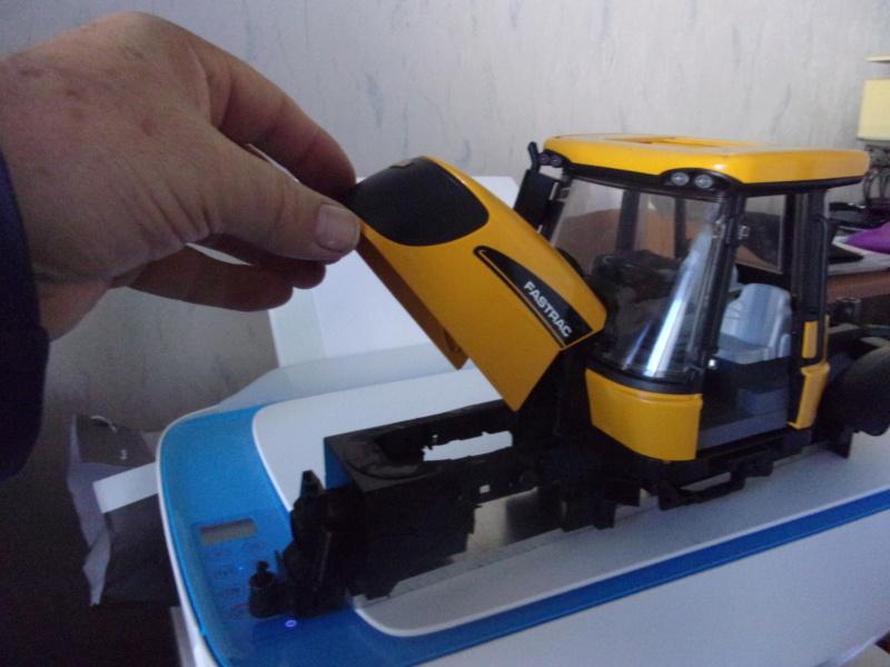 Tracteur agricole JCB de Bruder, 2 directions 03030 002194