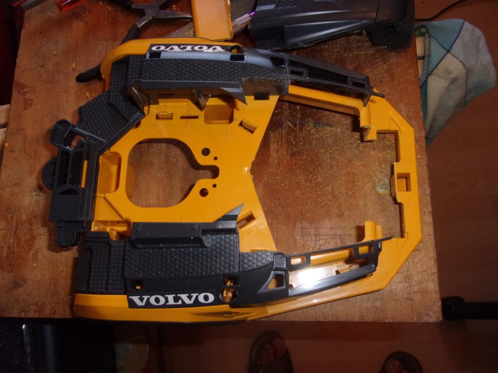 Les modifications sur Dumper Volvo A60H de Bruder 00539