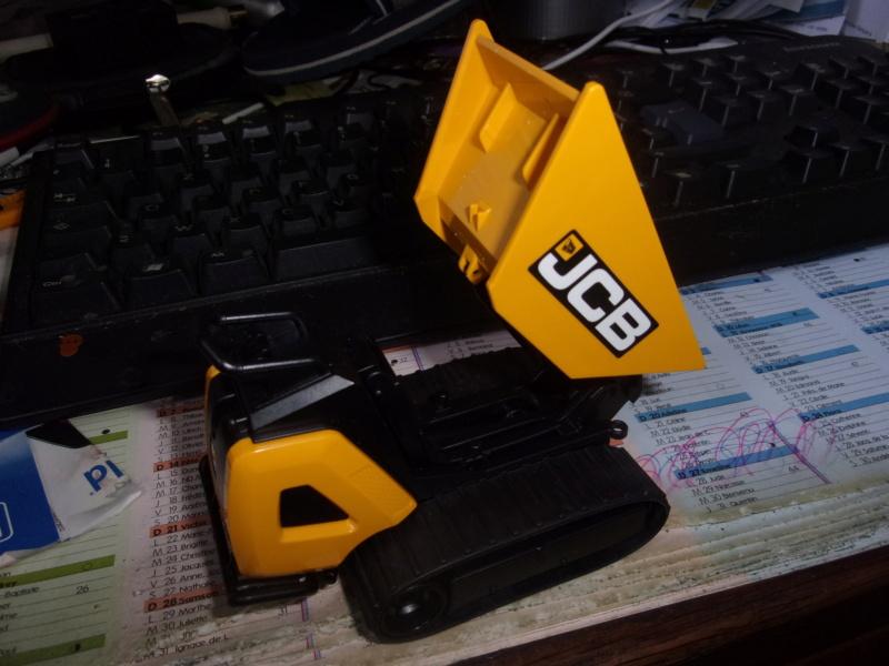 La brouette JCB HTD-5 de bruder 00595