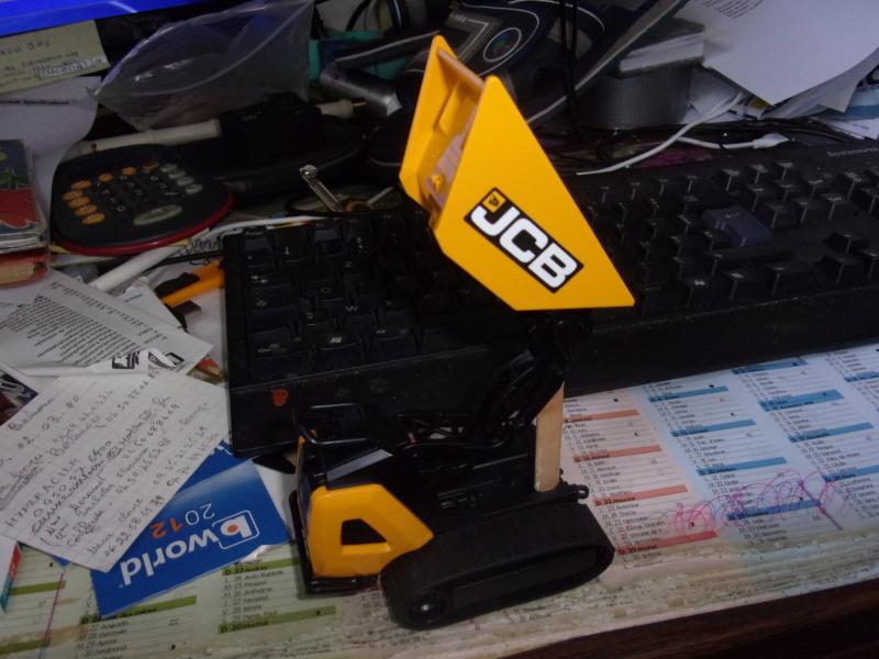 La brouette JCB HTD-5 de bruder 00678