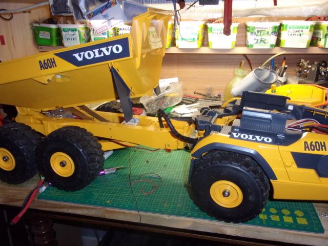 Les modifications sur Dumper Volvo A60H de Bruder 00925