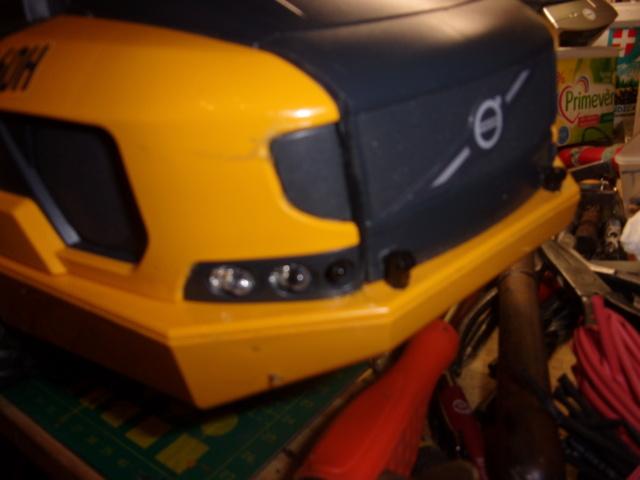 Les modifications sur Dumper Volvo A60H de Bruder 01315