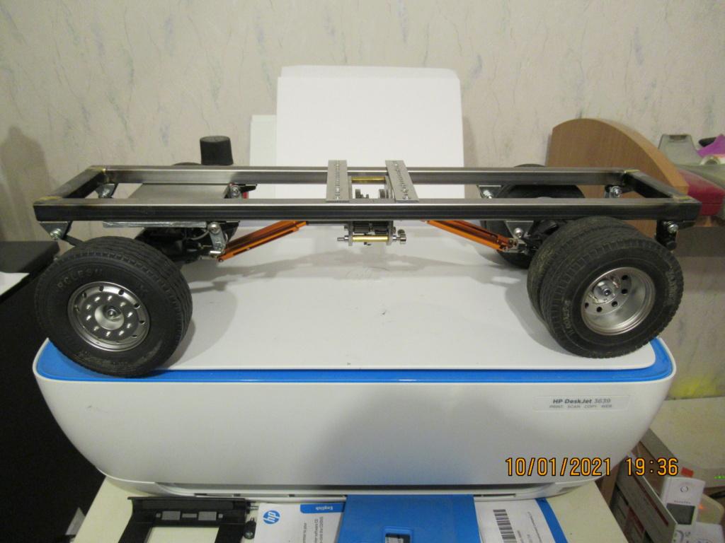 Tracteur routier Paris Dakar d'inspiration libre  sur bi cylindres Toyan - Page 2 2021-046