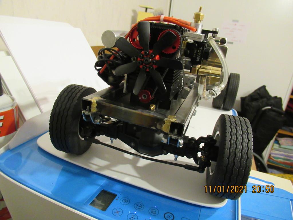 Tracteur routier Paris Dakar d'inspiration libre  sur bi cylindres Toyan - Page 2 2021-054