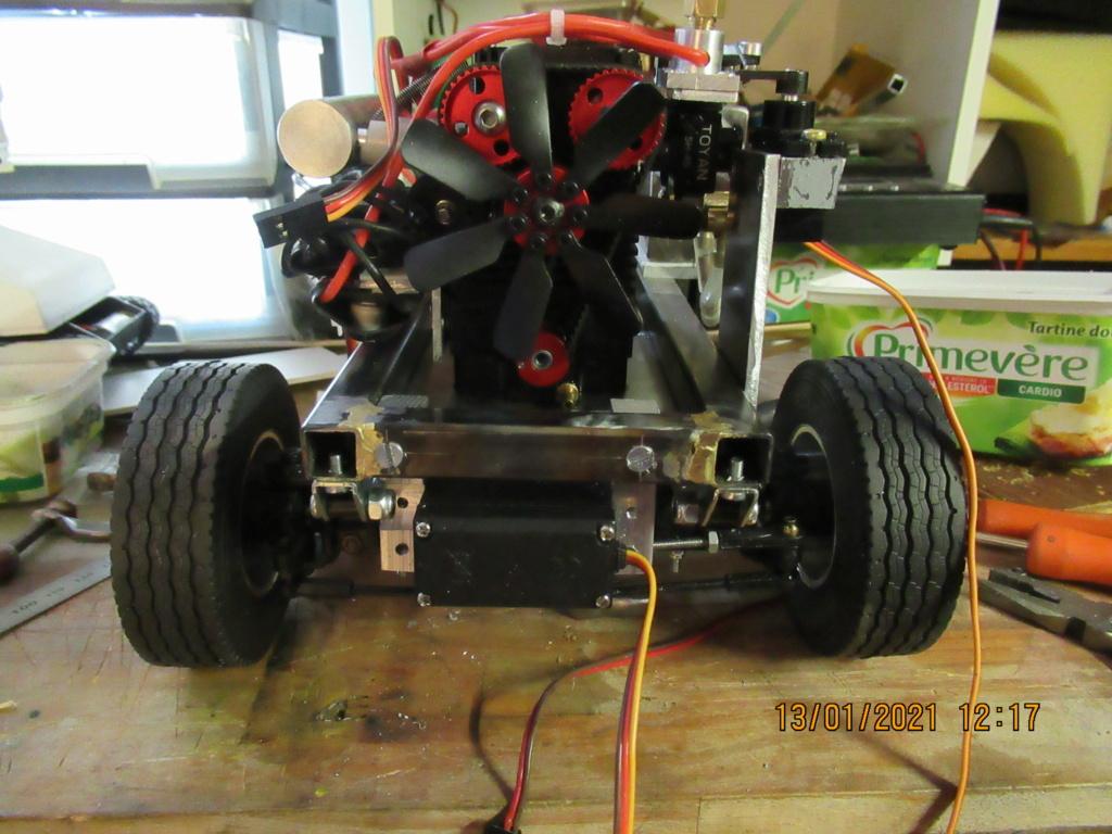 Tracteur routier Paris Dakar d'inspiration libre  sur bi cylindres Toyan - Page 3 2021-061