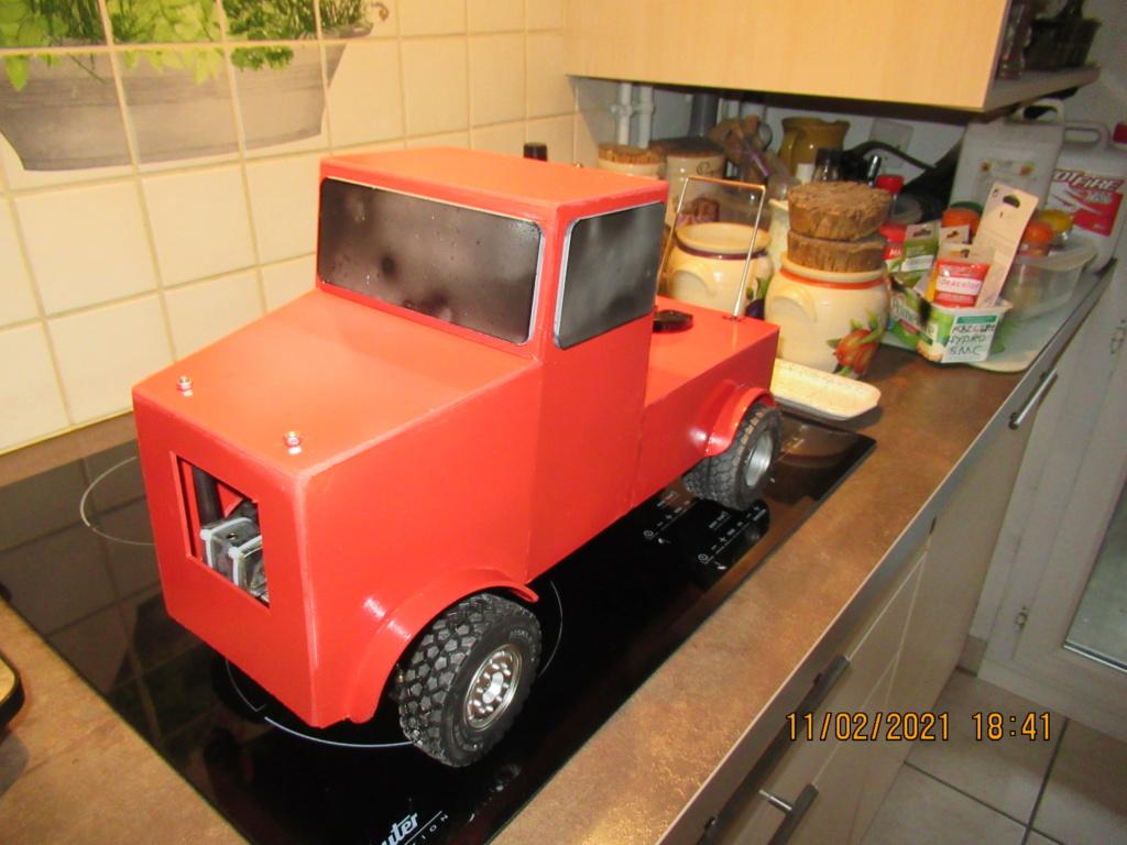 Tracteur routier Paris Dakar d'inspiration libre  sur bi cylindres Toyan - Page 4 2021-110