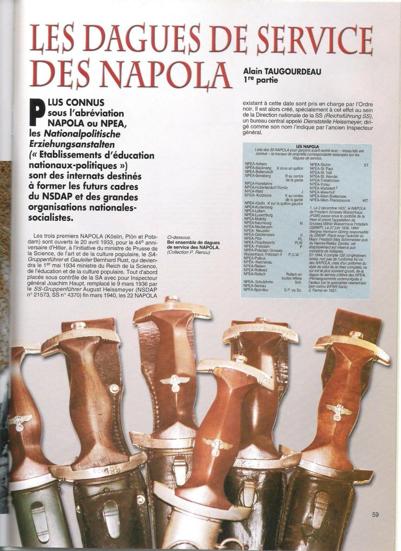 Autentifications Dague Napola 00110