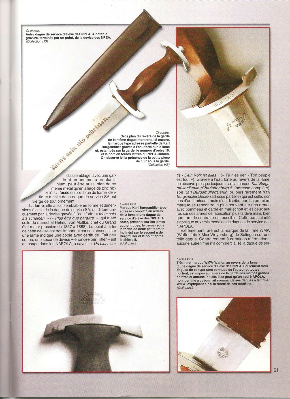 Autentifications Dague Napola 00310