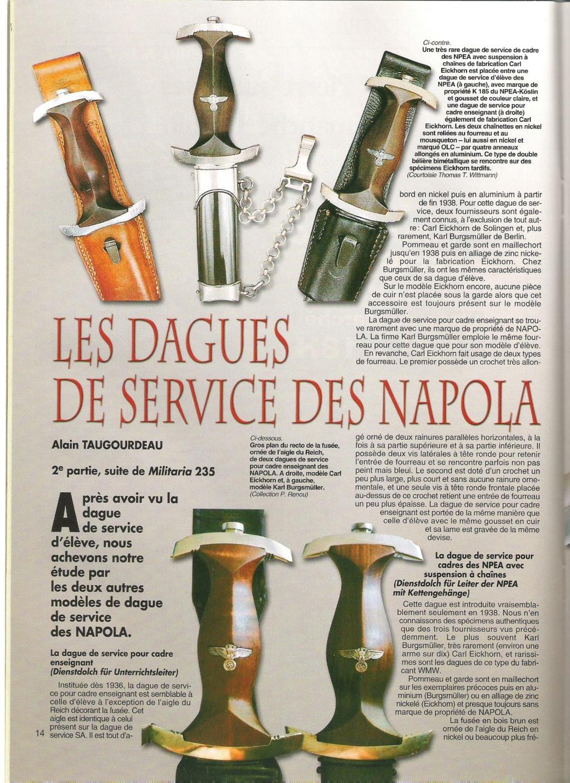 Autentifications Dague Napola 00610