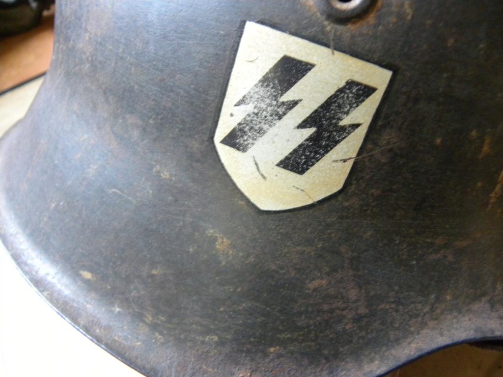Du lourd ce matin, un casque M42 Camo... Casque10