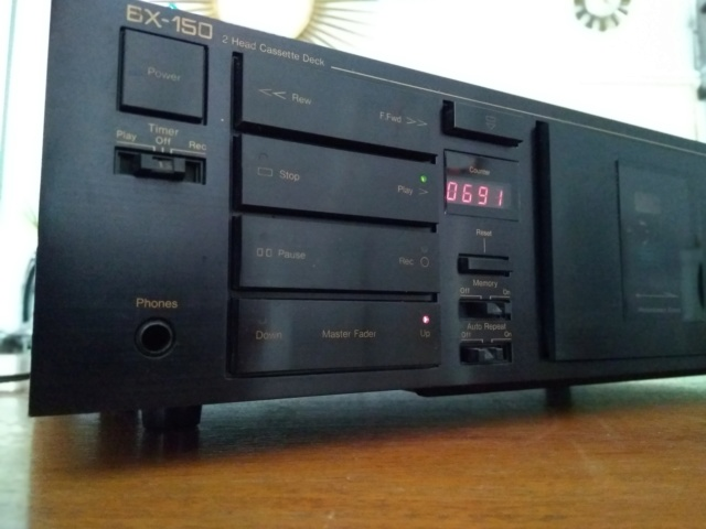 Nakamichi BX-150 tape deck (Made in Japan) Img_2013
