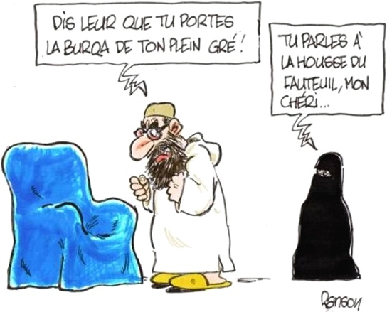 Humour en images ... tous thèmes ... - Page 19 Burqa-11