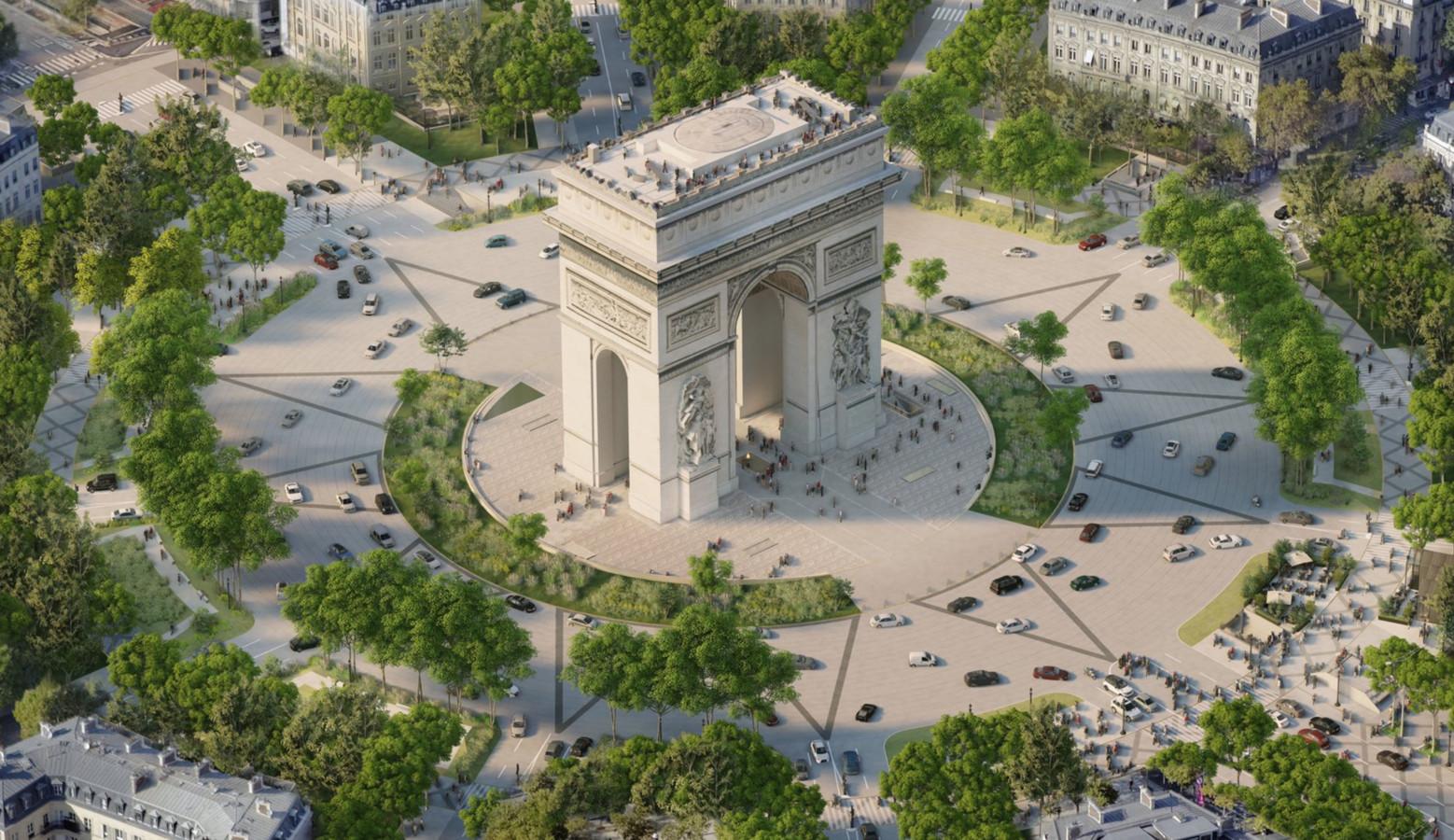 Voici à quoi pourraient ressembler les Champs-Élysées en 2030 Images29