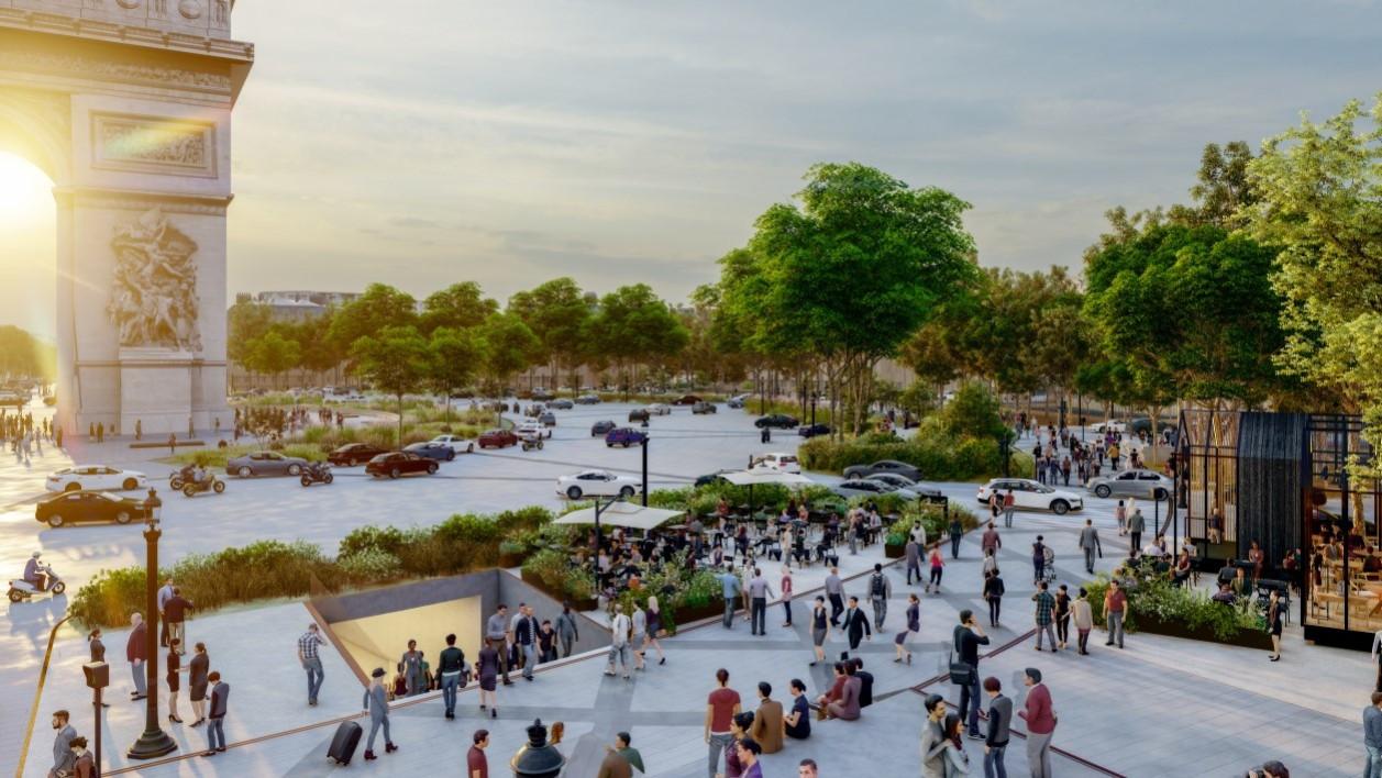 Voici à quoi pourraient ressembler les Champs-Élysées en 2030 Images30