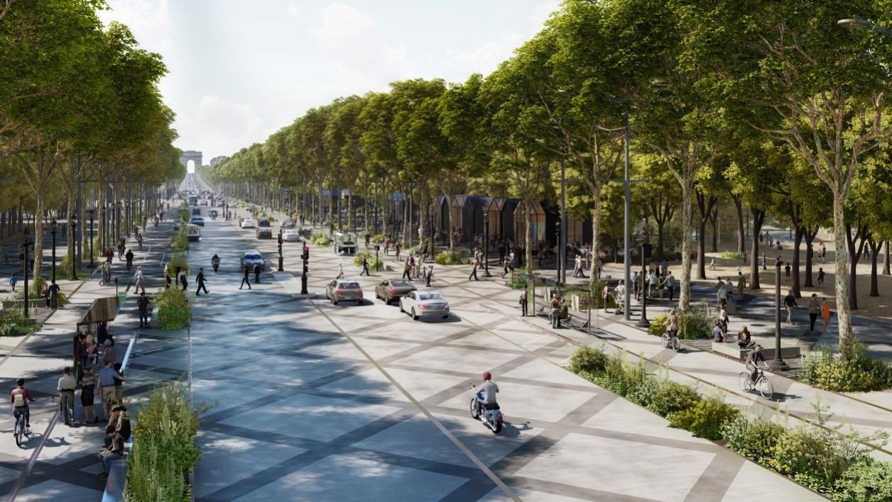 Voici à quoi pourraient ressembler les Champs-Élysées en 2030 Images31