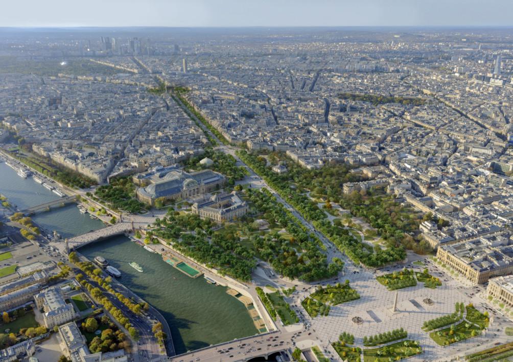 Voici à quoi pourraient ressembler les Champs-Élysées en 2030 Images32