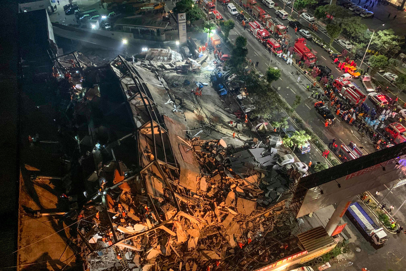 Un hôtel réquisitionné comme lieu de quarantaine s'effondre en Chine, au moins 10 morts Images37