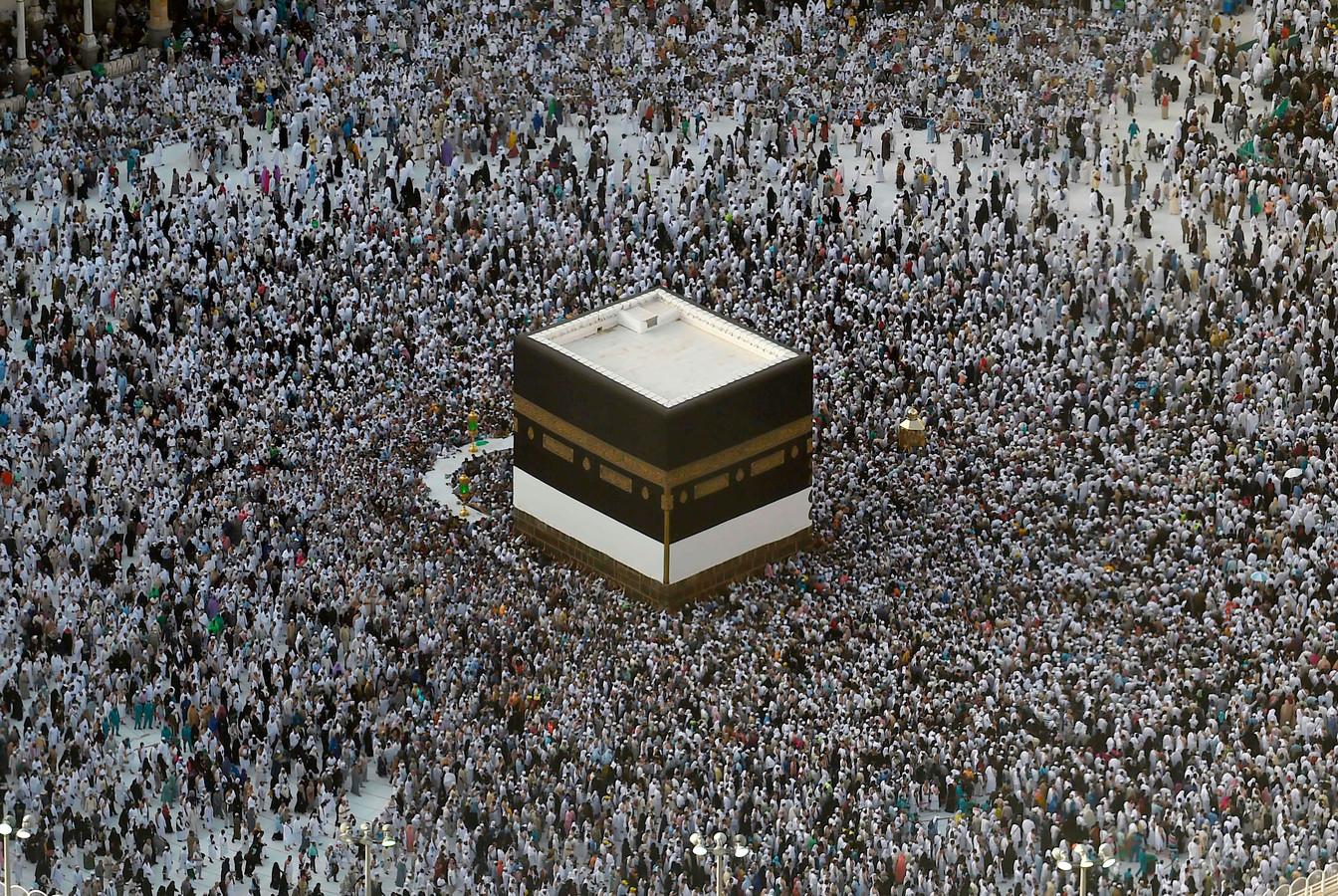 Plus de deux millions de musulmans entament le pèlerinage de La Mecque Mecque10