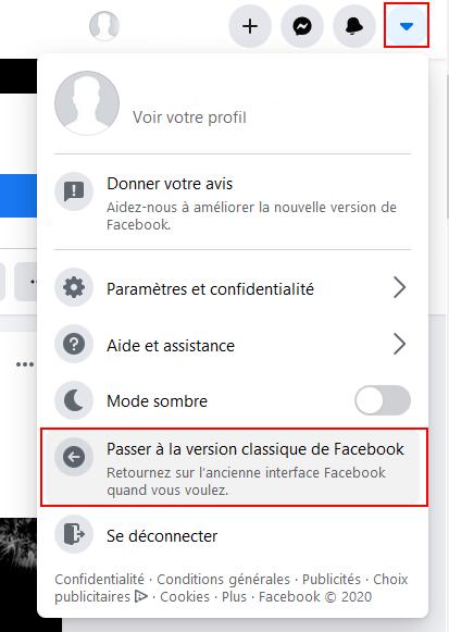 Facebook : Avez vous testé la nouvelle apparence ? Sans_t31