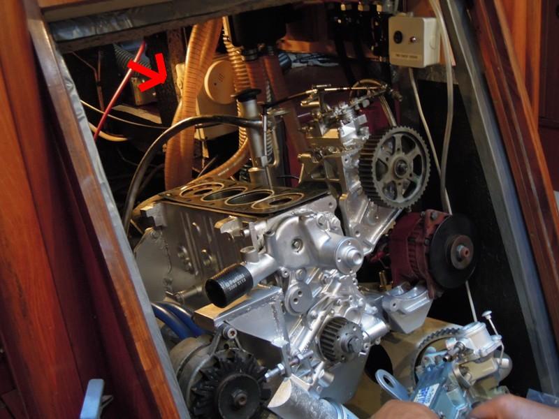 isolation compartimenr moteur Dscn0811