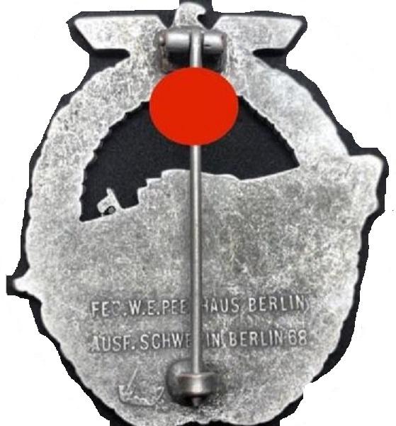Insigne  allemand kriegsmarine 400f_012