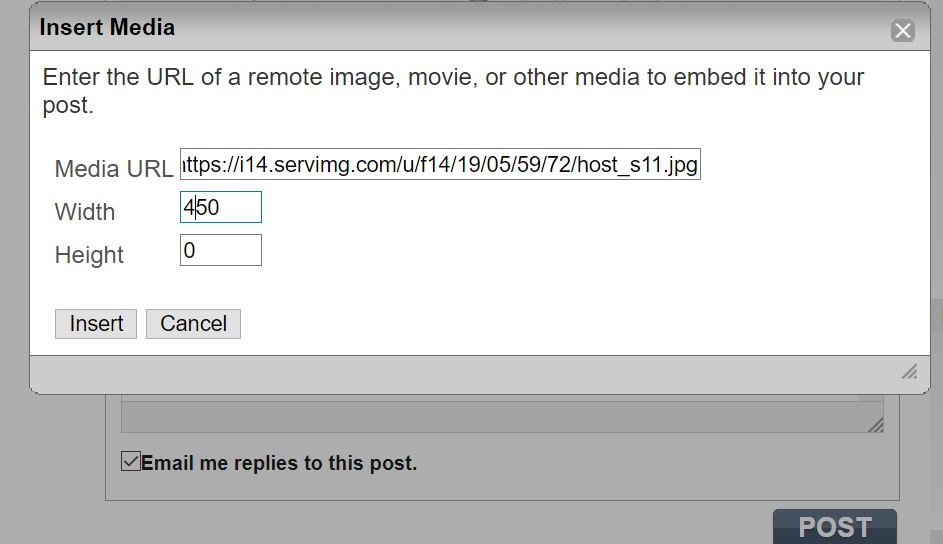 HOW TO HOST AN IMAGE WITH SERVING .COM Host_s17
