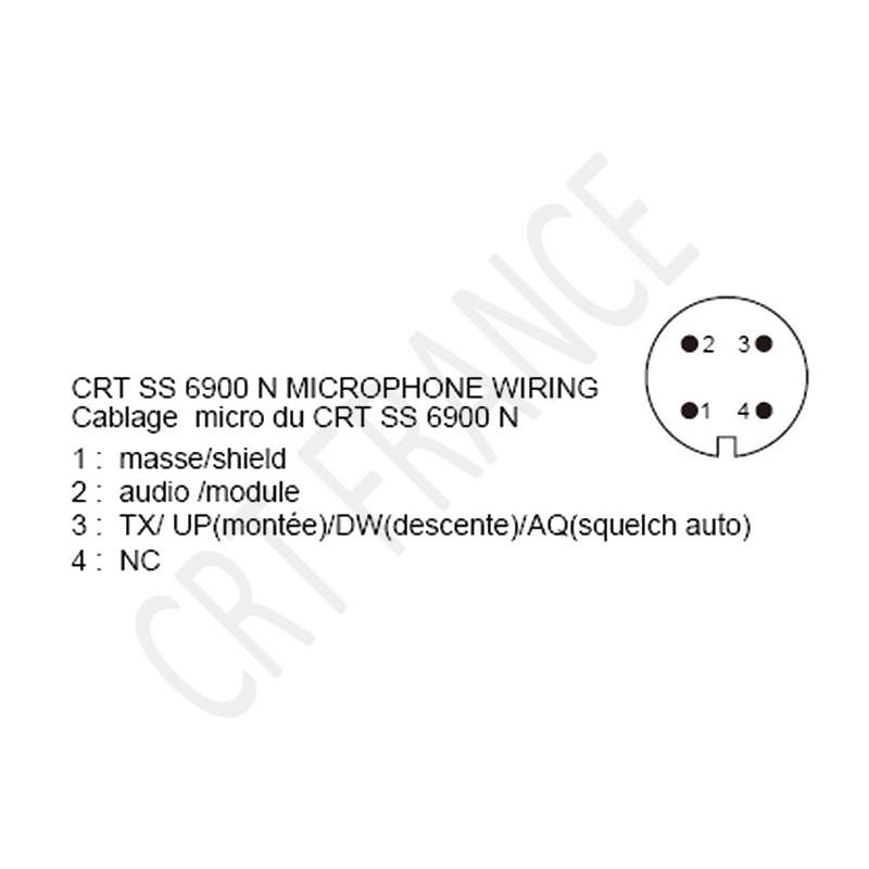 ( CLOTURER )Recherche Micro de table pour CRT 6900 N Crt-ss10