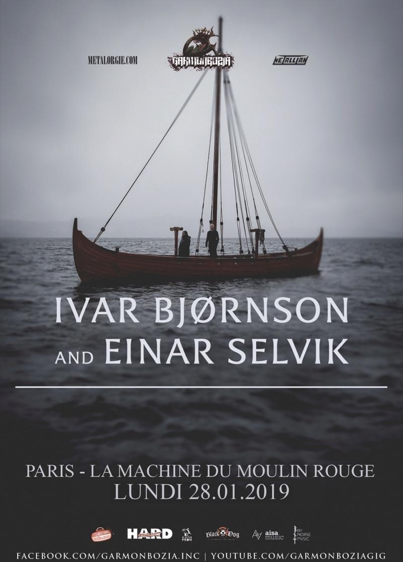Ivar Bjørnson & Einar Selvik // Paris 28 janvier 2019 Ivar_w11