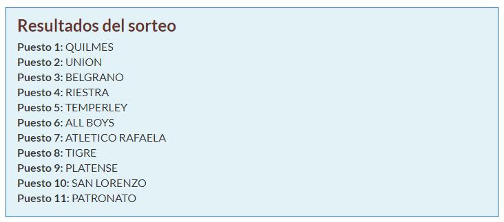 (T9) Elección Draft / B Metro Sorteo15