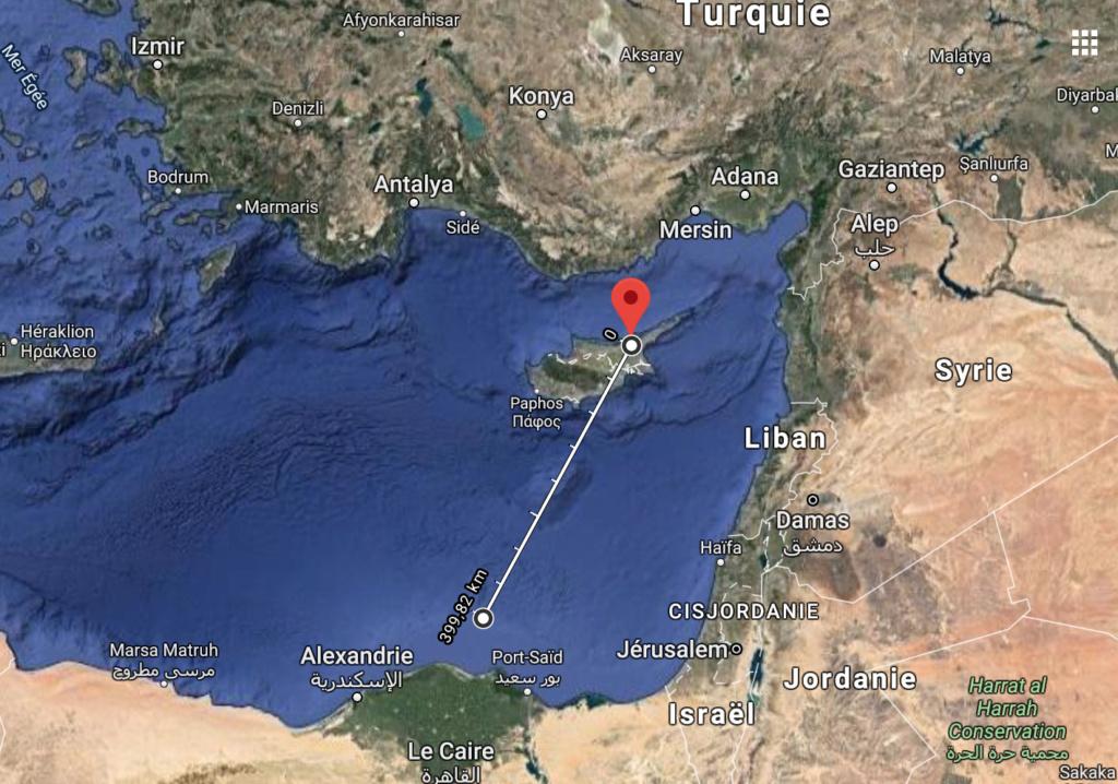 Tensions en Méditerranée Orientale  Captur17