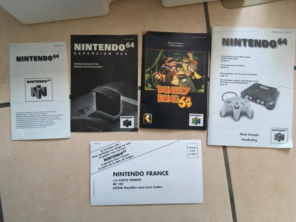 [VENDU] N64 Pack DK + Mario Kart 64 Img_0423