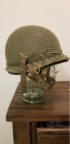 French Indochina Paratrooper M1 TAP/EO Helmet 20181110