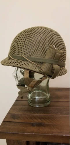 French Indochina Paratrooper M1 TAP/EO Helmet 20181111