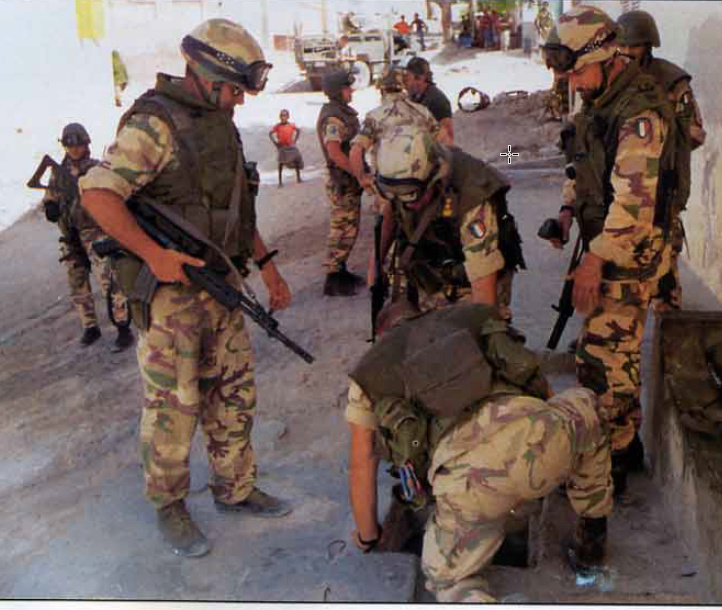 Italian Gear used in Somalia - Operation IBIS 1992-1994. 2020-010