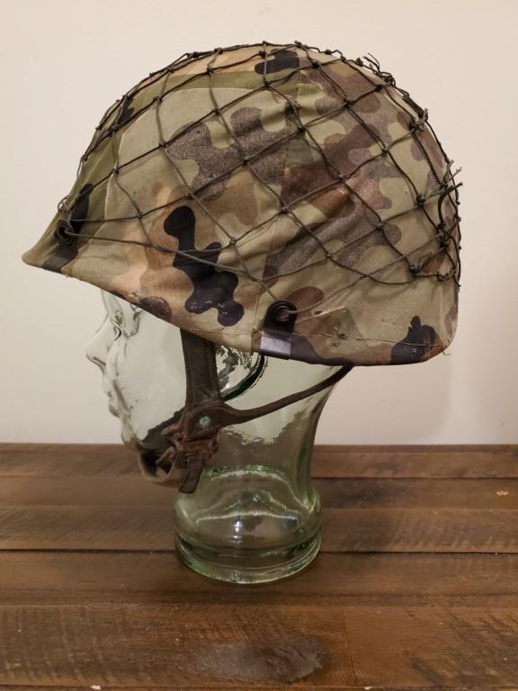 West German Para Helmet with Amoebatarn Cover 20200310