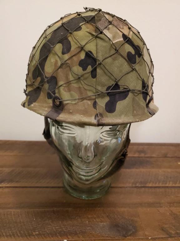 West German Para Helmet with Amoebatarn Cover 20200311