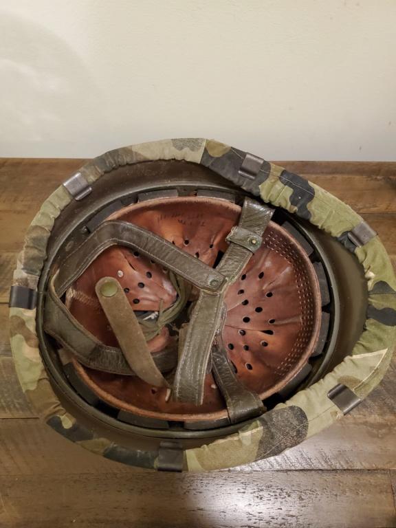West German Para Helmet with Amoebatarn Cover 20200314